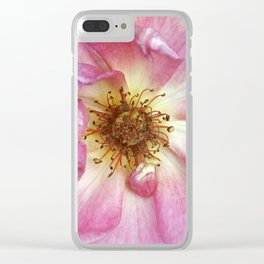 Hearts are earned Clear iPhone Case