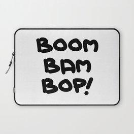 BOOM BAM BOP! Laptop Sleeve