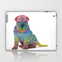 Colorful Sharpei Laptop & iPad Skin