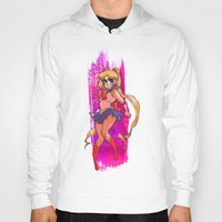 sailor moon Hoodies featuring Sailor Moon by Peach Mork