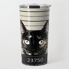 Kitty Mugshot Travel Mug