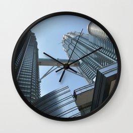Concourse Level Petronas Twin Tower Wilayah Persekutuan Kuala Lumpur Malaysia Ultra HD Wall Clock
