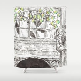 city detail Shower Curtain