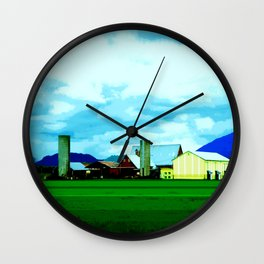 All At Once We Had It In For The Sky Wall Clock
