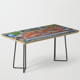 Route 66 Oldsmobile Coffee Table