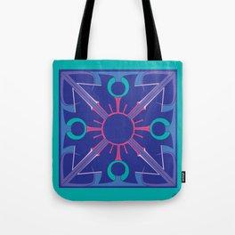 Peace is Complex Mandala Tote Bag