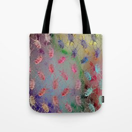 shiny stag beetles Tote Bag