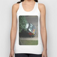 70s Tank Tops featuring Smokin'! ~ 70s-ish van by helene smith photography