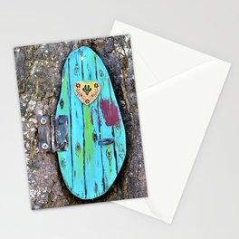 Tree door Stationery Cards