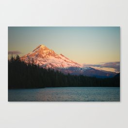 Mount Hood at Sunset, from Lost Lake Canvas Print