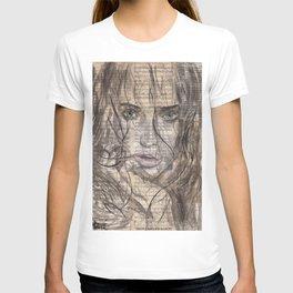Killed By Love portrait T-shirt