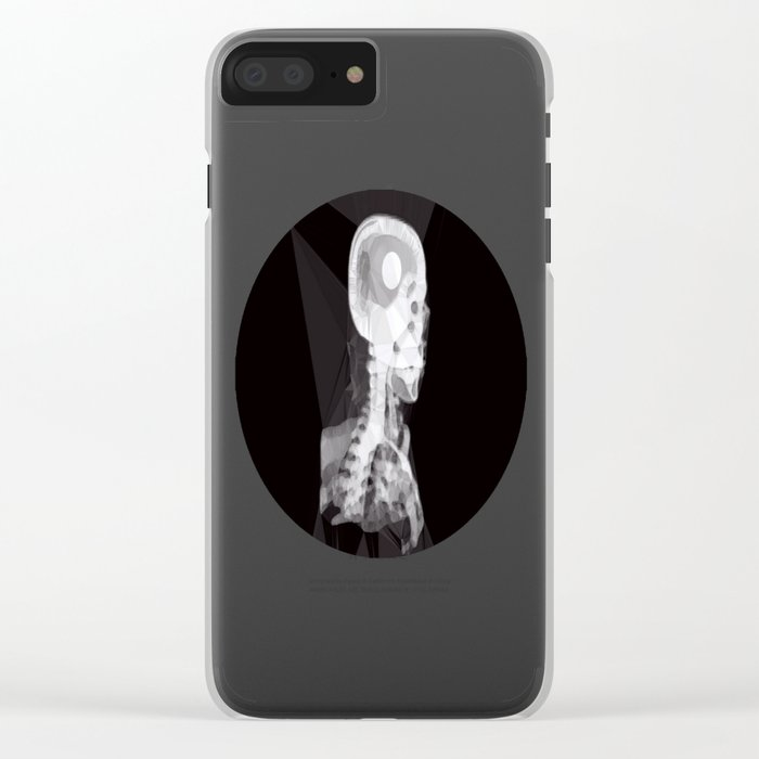 X-Rays and Triangles Clear iPhone Case