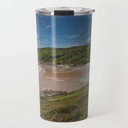 Pwll Du bay Gower peninsular Travel Mug