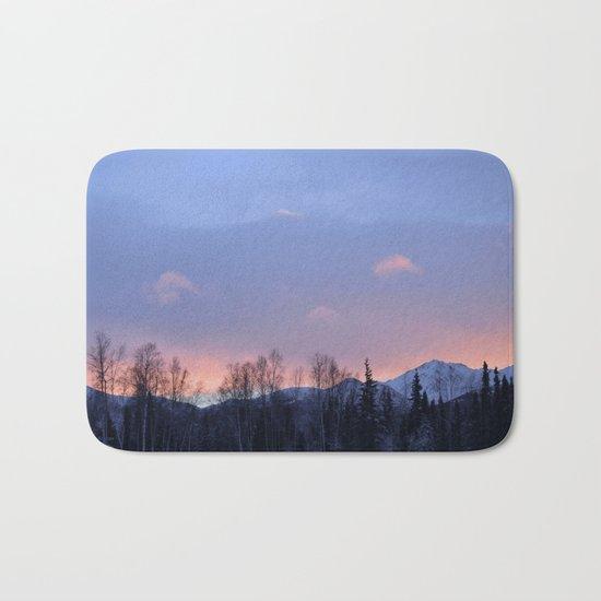 Chugach Mts Serenity Sunrise - II Bath Mat