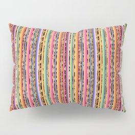 Modern serape and leopard print Pillow Sham