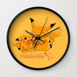 Pika chu Wall Clock