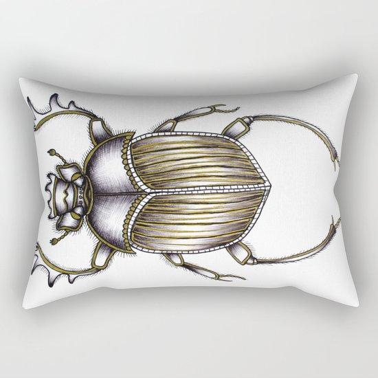 Scarab's Curse Rectangular Pillow