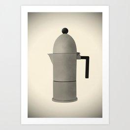 Cupole by Alessi. Vintage Italian coffee maker. Art Print