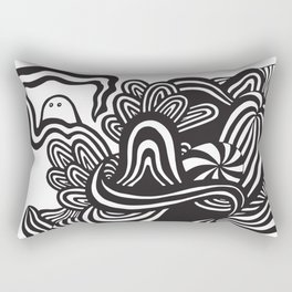 Down the Rabbithole Rectangular Pillow
