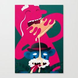 More Custard Canvas Print