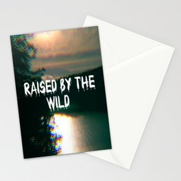 Raised by the wild Stationery Cards