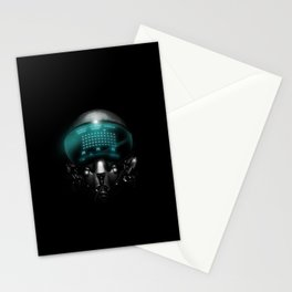Space Invasion Stationery Cards