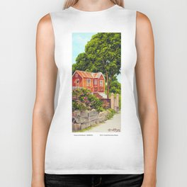 House on the Mound BARBADOS Biker Tank