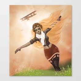 Flying Free Canvas Print