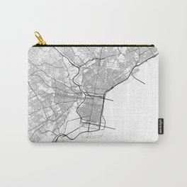 Minimal City Maps - Map Of Philadelphia, Pennsylvania, United States Carry-All Pouch