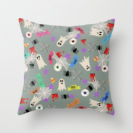Maybe you're haunted #5 Throw Pillow