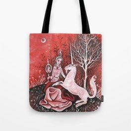 Vieille Damoiselle Tote Bag