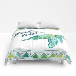 Costa Rica Turtle Comforters