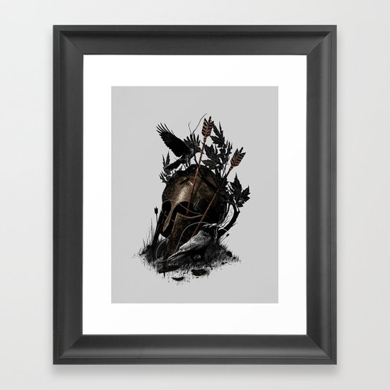 Legends Fall Framed Art Print