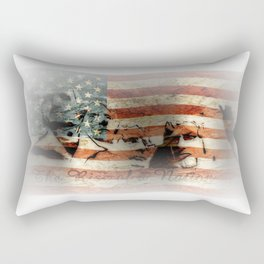 The Rise of a Nation Rectangular Pillow