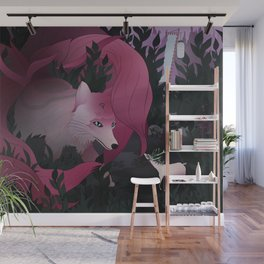 Spirits of the forest Wall Mural