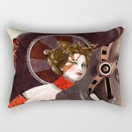 Amanda Palmer Six of Wands Rectangular Pillow