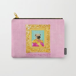 Pug the Magnifique Carry-All Pouch