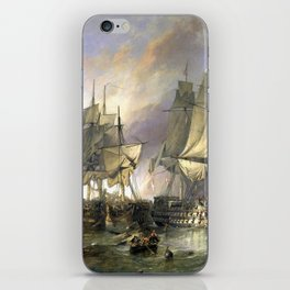 The Battle of Trafalgar iPhone Skin