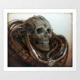 The Timetraveller II Art Print