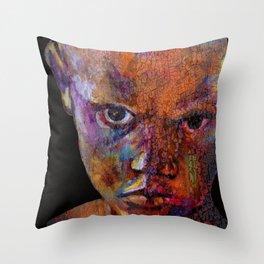 THE MAGICIAN - urban black Throw Pillow