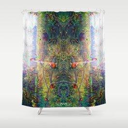 Hidden Mysteries 1: The Divinity Pillar Shower Curtain