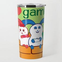 Ernest | Loves games Travel Mug