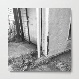 The Back Door Metal Print