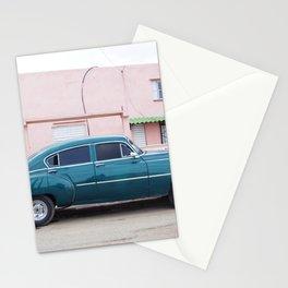 Vintage car in Havana Cuba Stationery Cards