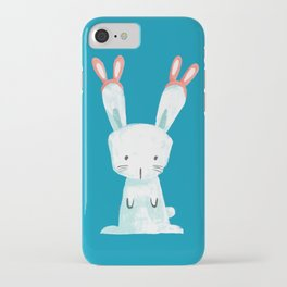 Four Eared Bunny iPhone Case