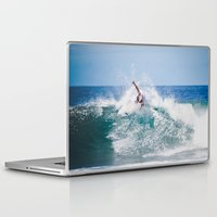 surfer Laptop & iPad Skins featuring Surfer by Carmen Moreno Photography