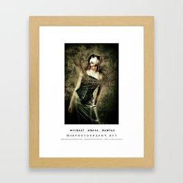 dark things 8 Framed Art Print