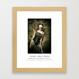 dark things 8 Framed Art Print