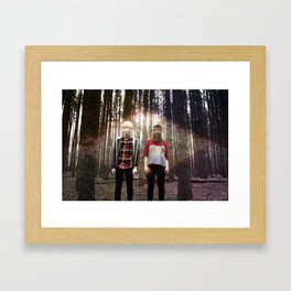 Control Games Framed Art Print