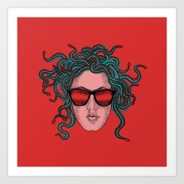 Bad Girl Art Print